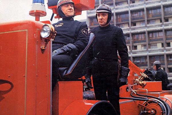 Fahrenheit 451 : Foto Cyril Cusack, François Truffaut, Oskar Werner