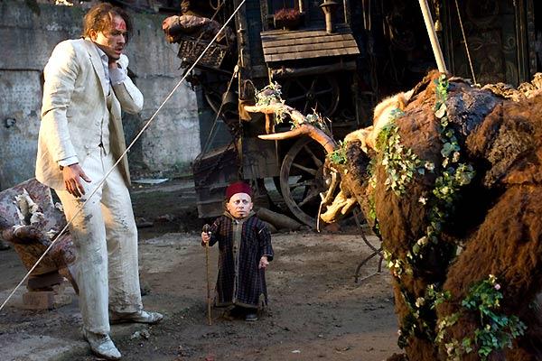 El imaginario del Doctor Parnassus : Foto Heath Ledger, Verne Troyer