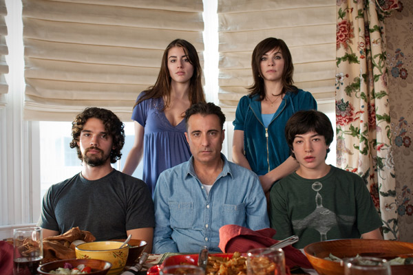 Asuntos de familia : Foto Andy Garcia, Dominik García-Lorido, Ezra Miller, Julianna Margulies, Raymond de Felitta