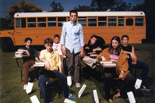 Freaks and Geeks : Foto James Franco, Jason Segel, John Francis Daley, Linda Cardellini, Martin Starr