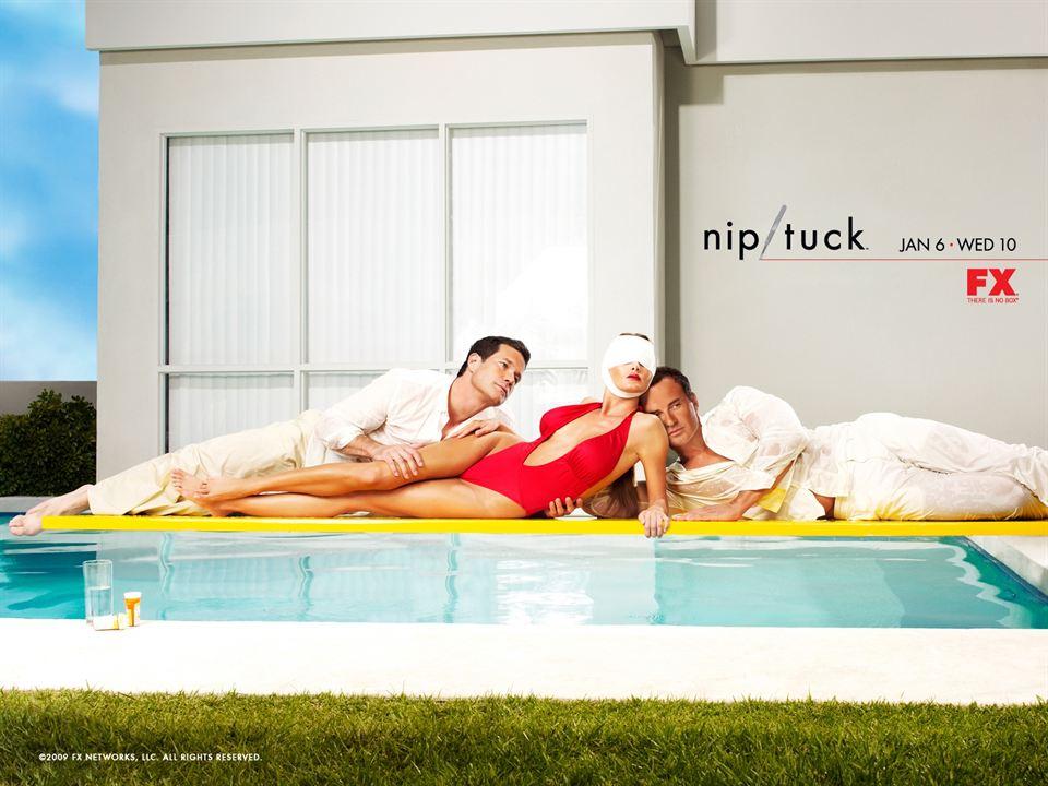 Nip/Tuck, a golpe de bisturí : Foto Dylan Walsh, Julian McMahon