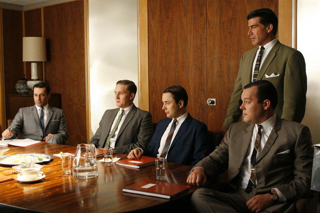 Mad Men : Foto Bryan Batt, Jon Hamm, Michael Gladis, Rich Sommer, Vincent Kartheiser