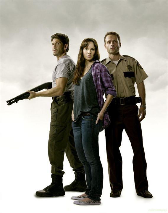 The Walking Dead : Foto Andrew Lincoln, Jon Bernthal, Sarah Wayne Callies