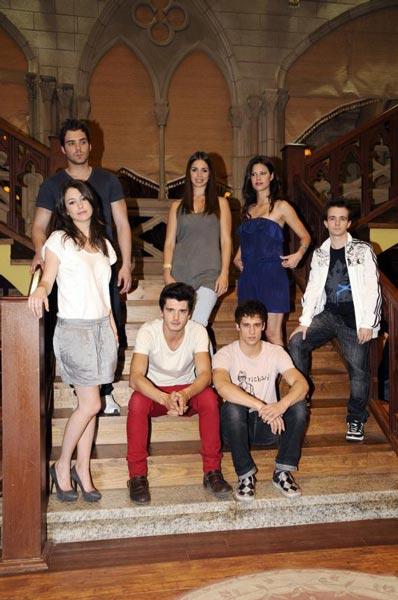 El Internado : Foto Blanca Suárez, Daniel Retuerta, Elena Furiase, Martiño Rivas, Nani Jiménez
