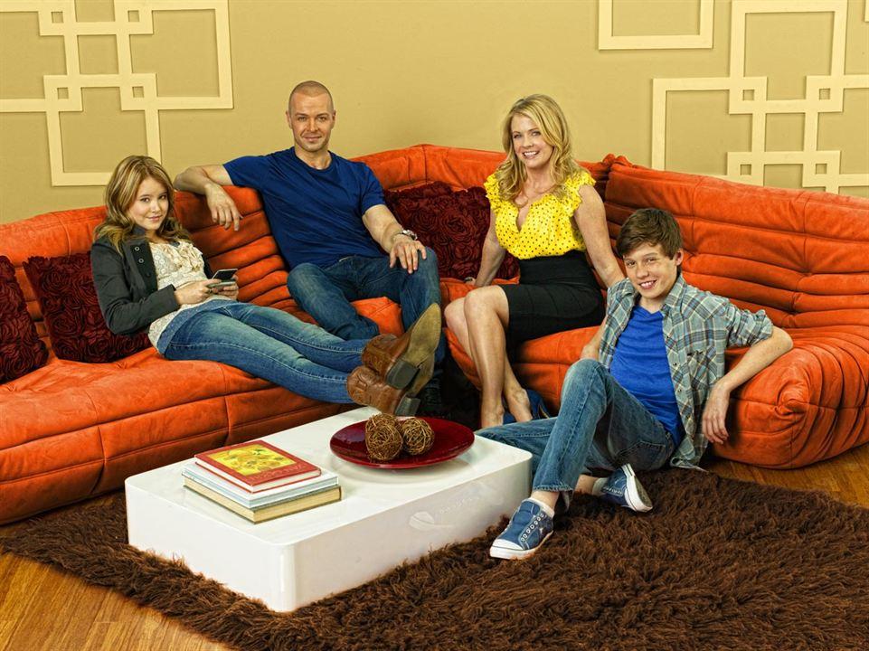 Melissa y Joey : Foto Joey Lawrence, Melissa Joan Hart, Nick Robinson, Taylor Spreitler