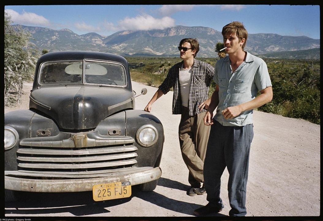 On the road (En la carretera): Sam Riley, Walter Salles, Garrett Hedlund