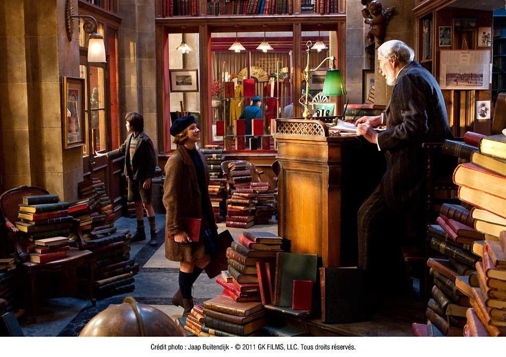 La invención de Hugo : Foto Asa Butterfield, Chloë Grace Moretz, Christopher Lee