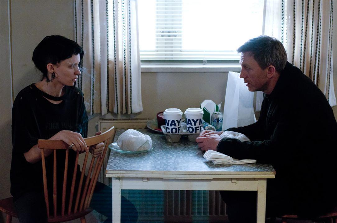 Millennium: Los hombres que no amaban a las mujeres : Foto Daniel Craig, Rooney Mara