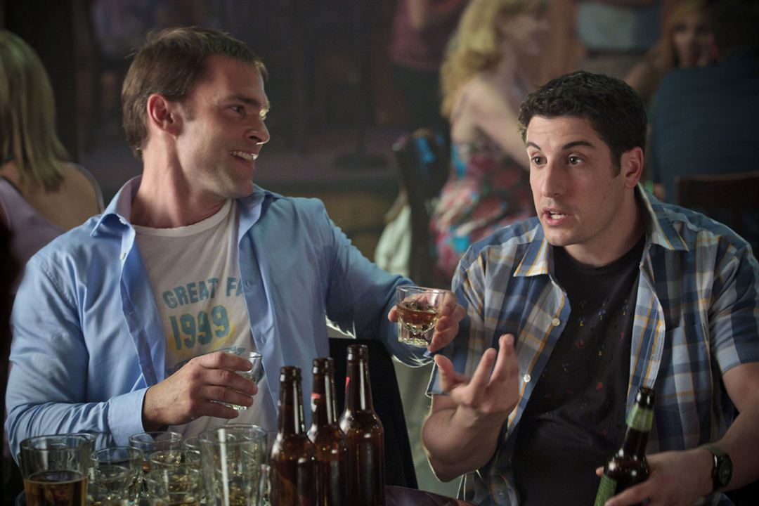 American Pie: El reencuentro: Seann William Scott, Jason Biggs