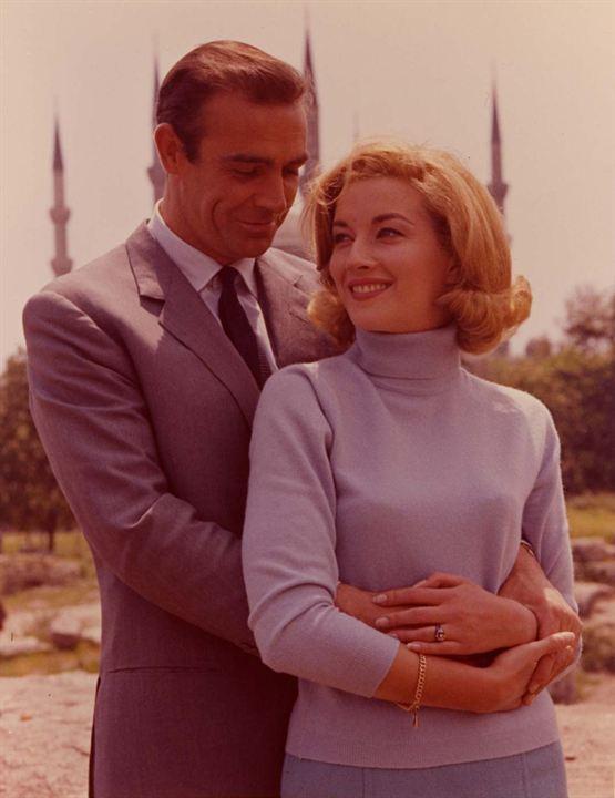 Desde Rusia con amor: Daniela Bianchi, Sean Connery