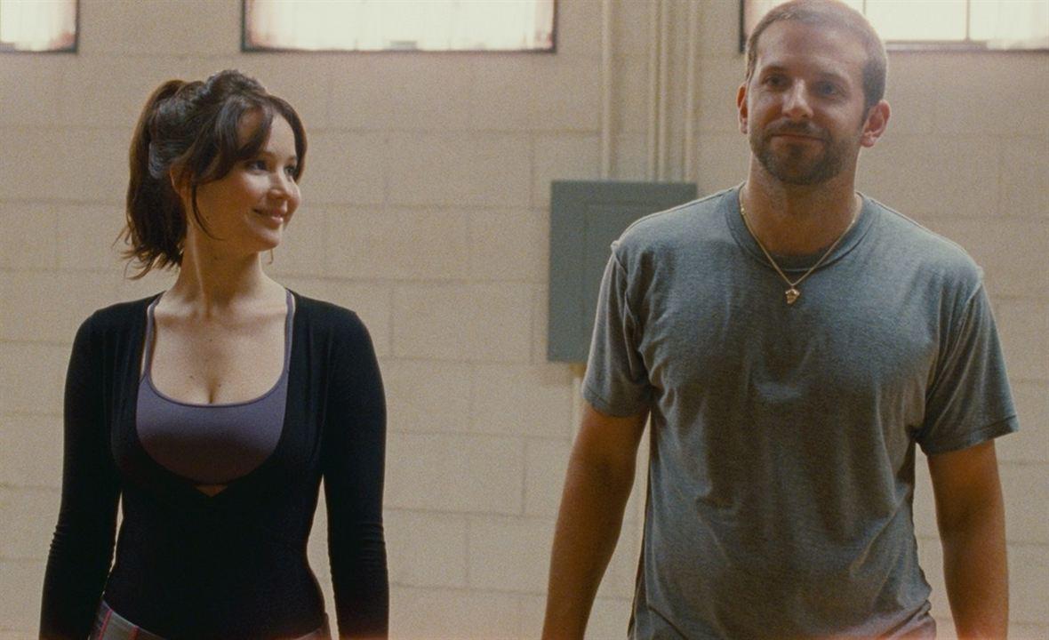 El lado bueno de las cosas (Silver Linings Playbook): Jennifer Lawrence, Bradley Cooper