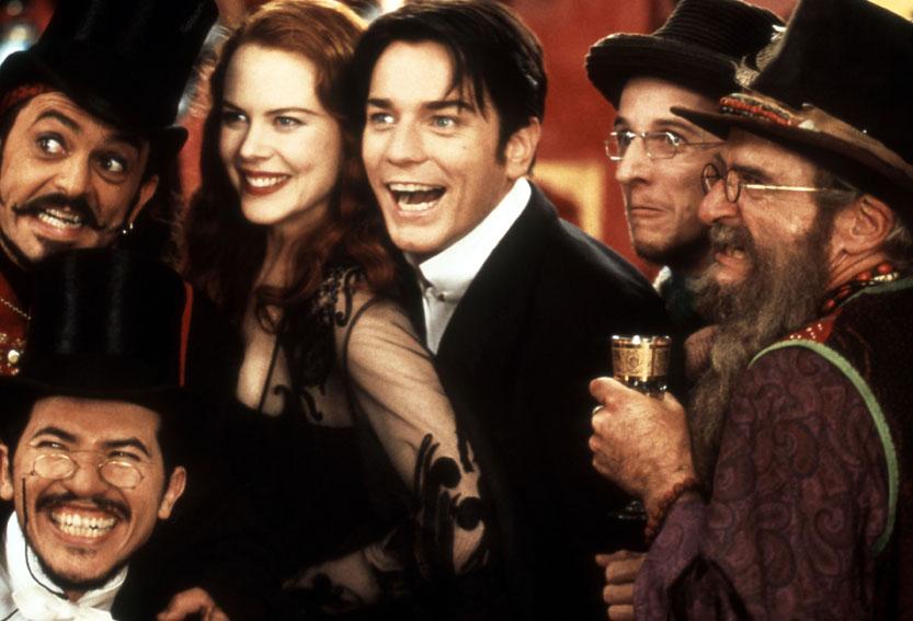 Moulin Rouge : Foto Ewan McGregor, Garry McDonald (II), Jacek Koman, John Leguizamo, Matthew Whittet