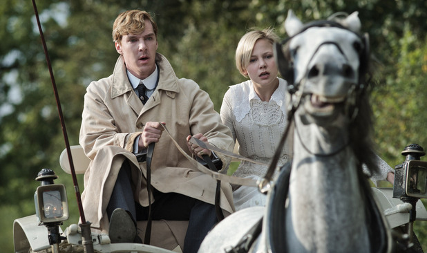 Foto Adelaide Clemens, Benedict Cumberbatch