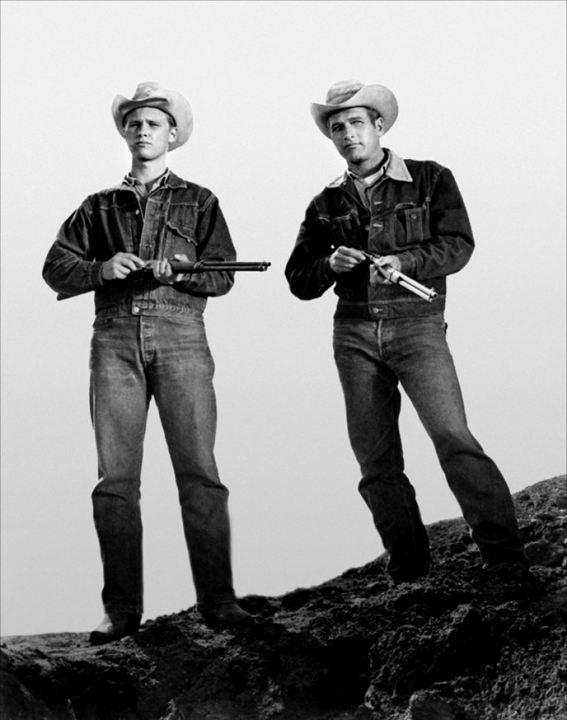 Hud, el más salvaje entre mil: Paul Newman, Brandon De Wilde