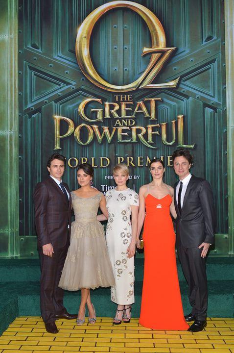 Oz: Un mundo de fantasía : Couverture magazine James Franco, Michelle Williams, Mila Kunis, Rachel Weisz, Zach Braff