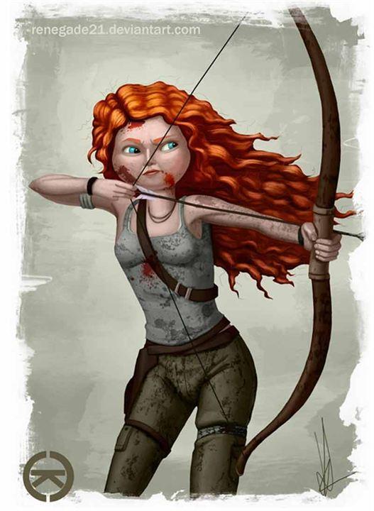 'Brave' y 'Tomb Raider'