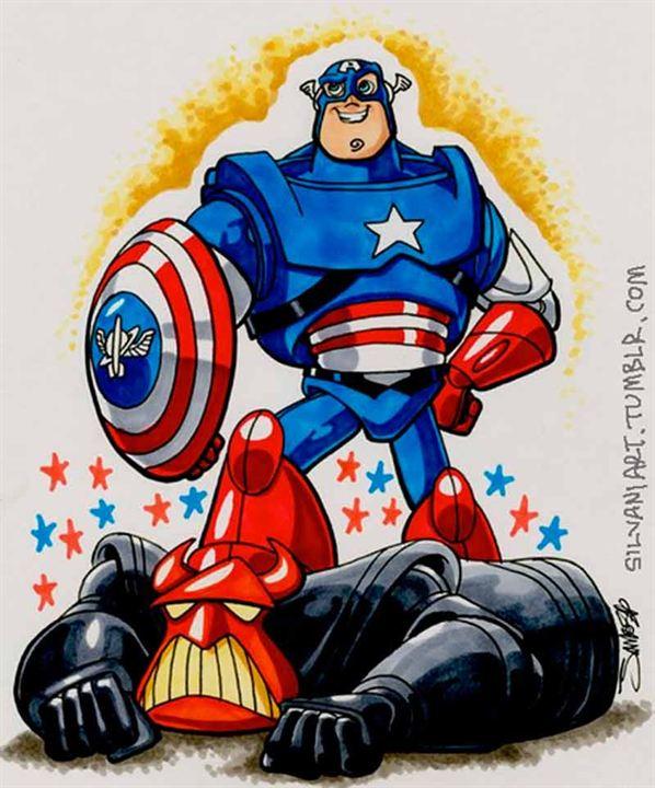 'Toy Story' y 'Capitán América'
