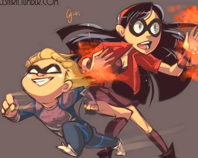 'Los Increíbles' y 'Vengadores'