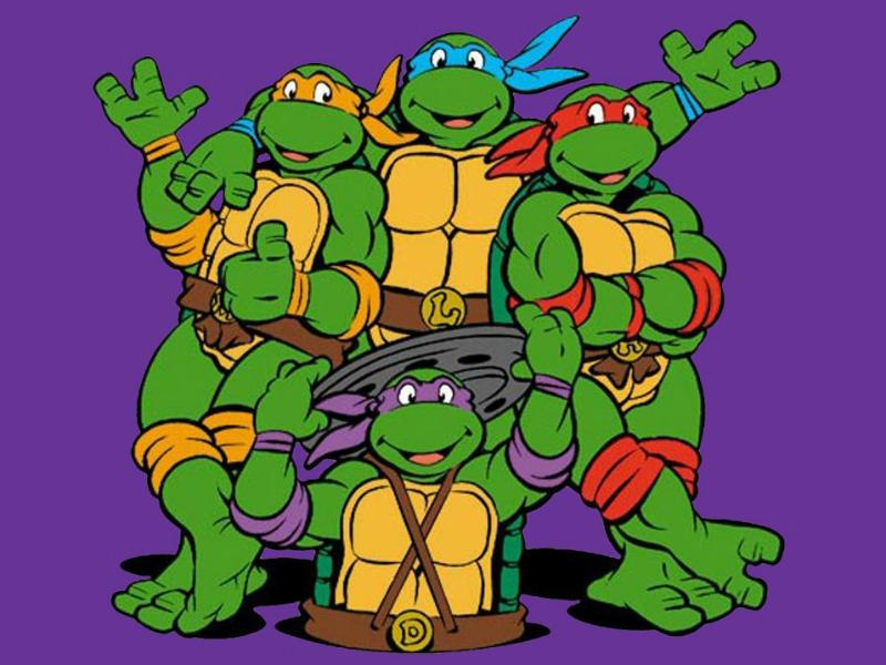 10. Tortugas Ninja Mutantes Adolescentes - 10 temporadas (desde 1987 hasta 1996)