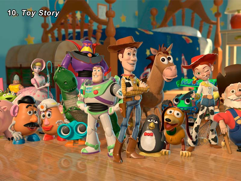 10. Toy Story