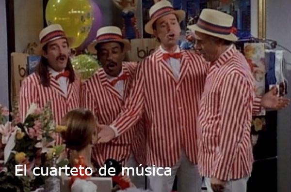 El cuarteto de músical
