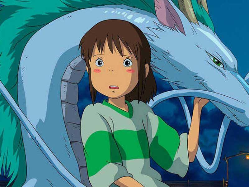 1. 'El viaje de Chihiro'