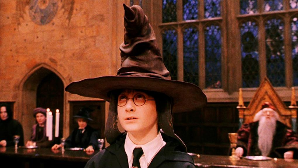 Harry Potter entra a Griffindor