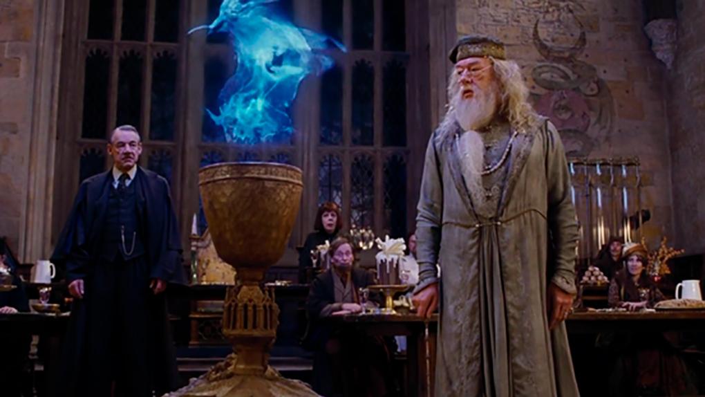 Cuando el nombre de Harry aparece en el Torneo de los Tres Magos
