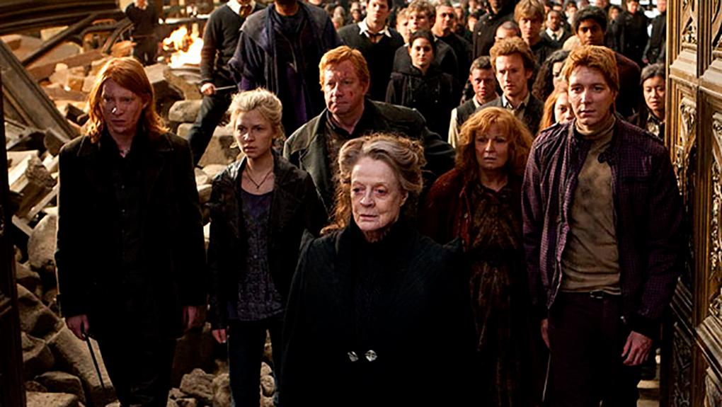 La gran batalla de Hogwarts