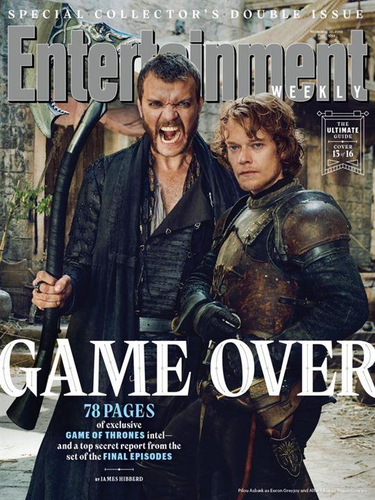 Euron y Theon Greyjoy