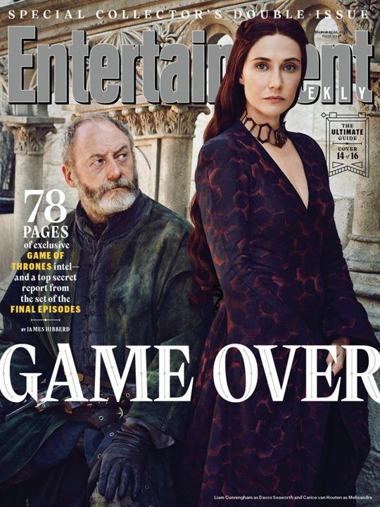 Davos Seaworth y Melisandre