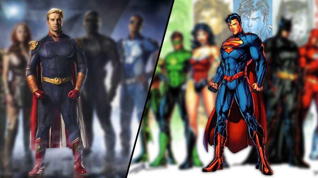 Homelander vs Superman