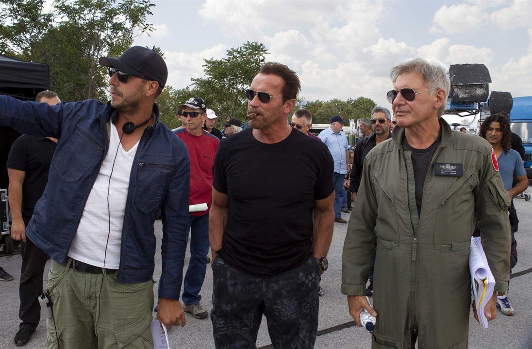 Los mercenarios 3 : Foto Arnold Schwarzenegger, Harrison Ford, Patrick Hughes (II)