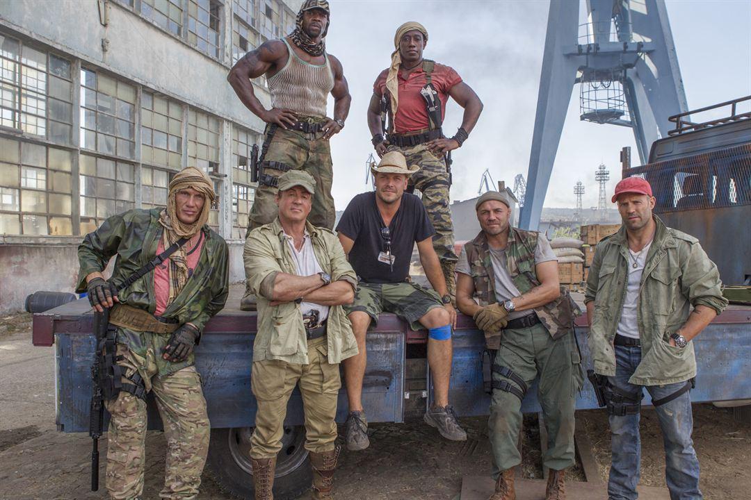 Los mercenarios 3 : Foto Dolph Lundgren, Jason Statham, Patrick Hughes (II), Randy Couture, Sylvester Stallone