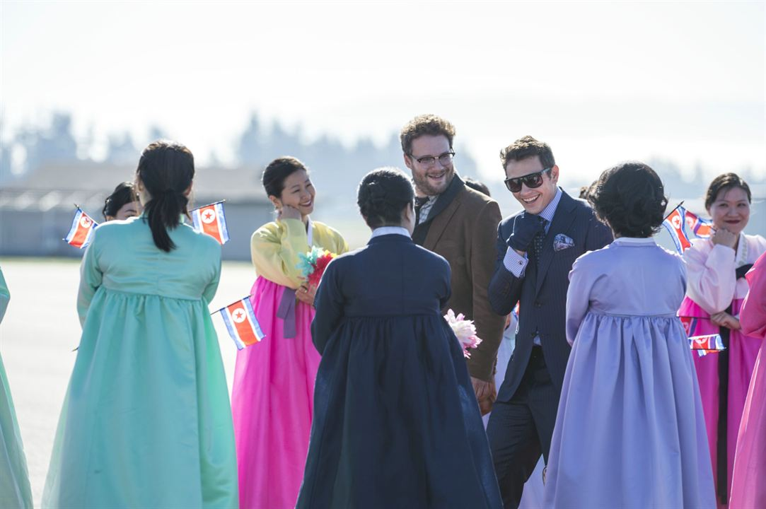 The Interview : Foto James Franco, Seth Rogen