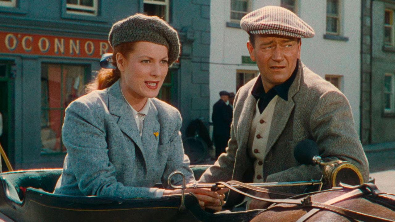 El hombre tranquilo: Maureen O'Hara, John Wayne