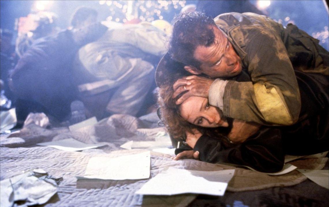 Jungla de cristal: Bruce Willis, Bonnie Bedelia