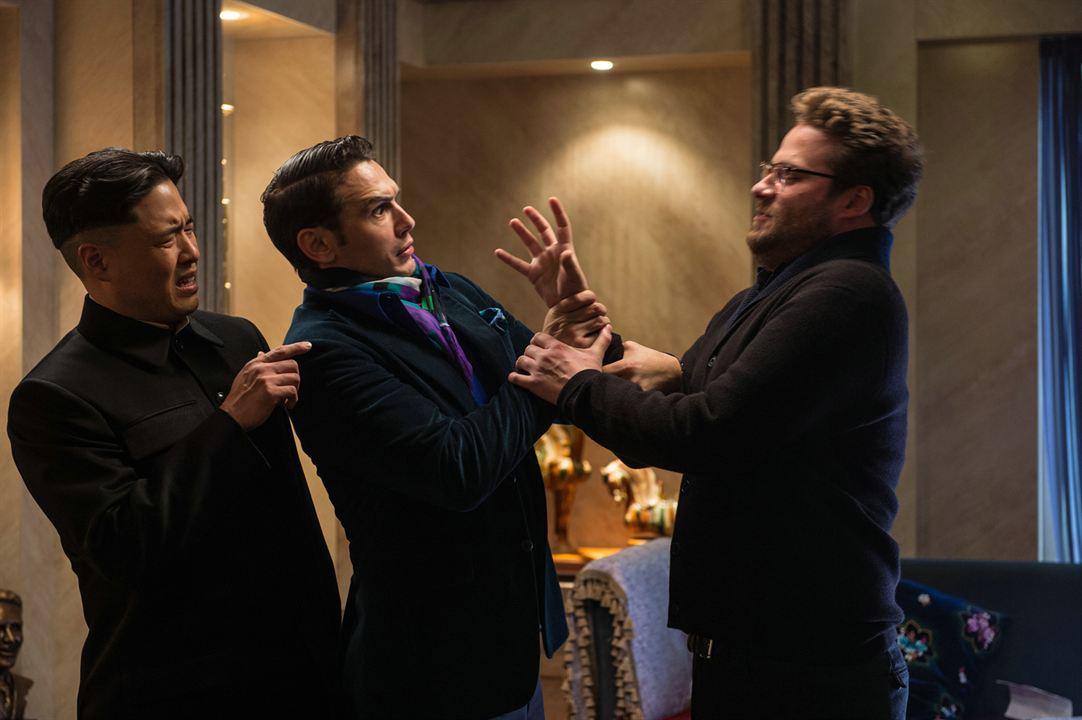 The Interview : Foto James Franco, Randall Park, Seth Rogen