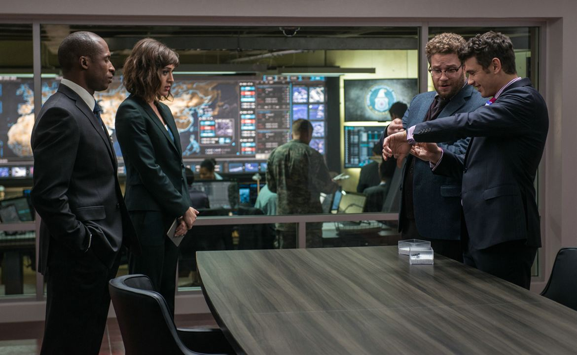 The Interview : Foto James Franco, Lizzy Caplan, Reese Alexander, Seth Rogen