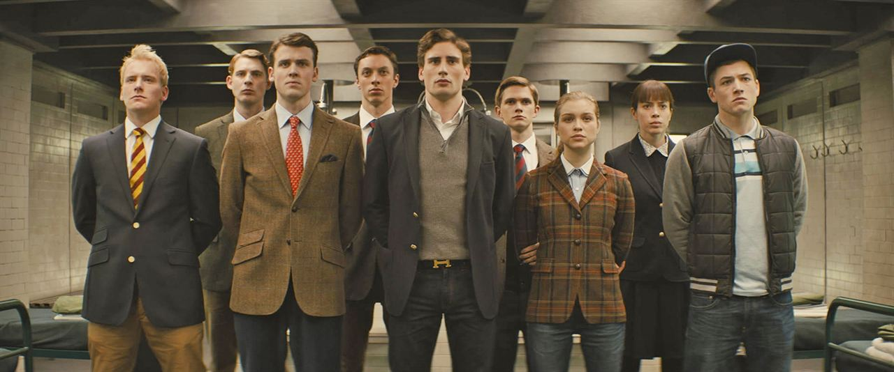 Kingsman: Servicio secreto: Nicholas Banks, Taron Egerton, Sophie Cookson, Edward Holcroft, Tom Prior