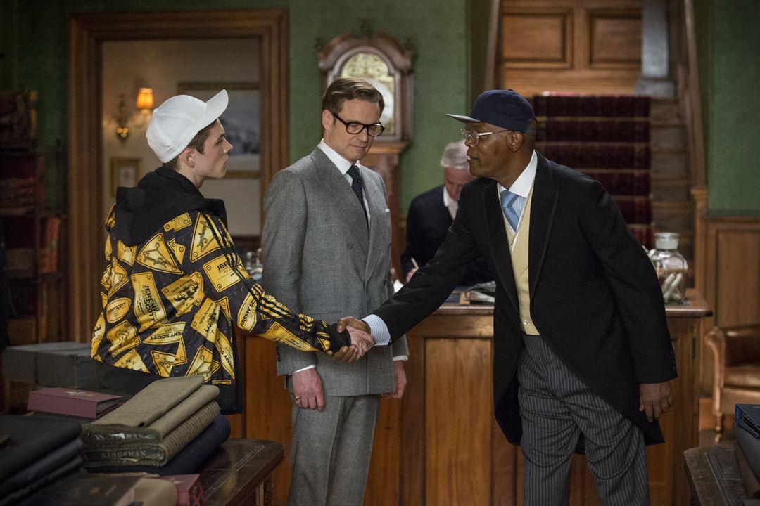 Kingsman: Servicio secreto: Colin Firth, Taron Egerton