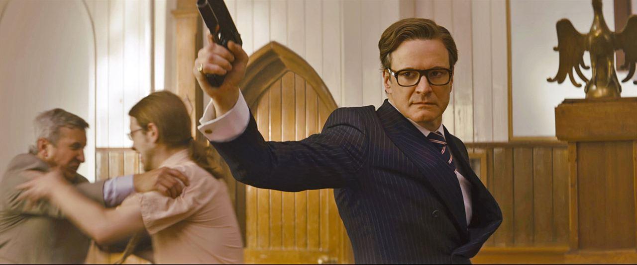 Kingsman: Servicio secreto: Colin Firth