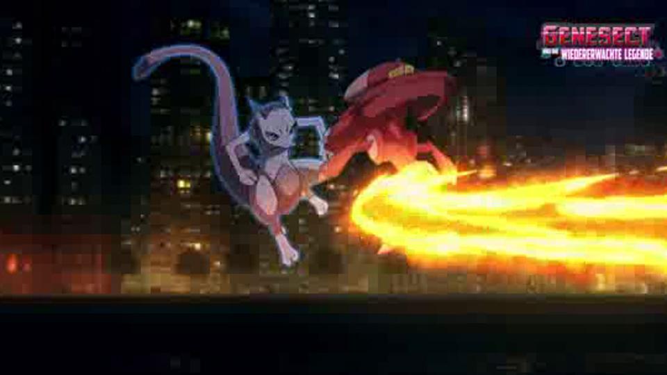 Pokémon Genesect y el despertar de una leyenda