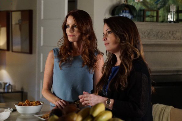Foto Holly Marie Combs, Laura Leighton