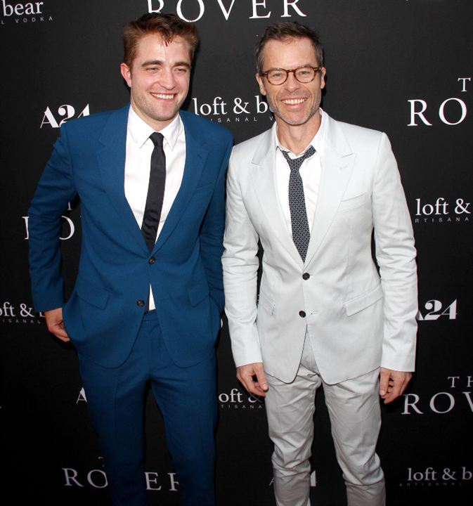 The Rover : Couverture magazine Guy Pearce, Robert Pattinson