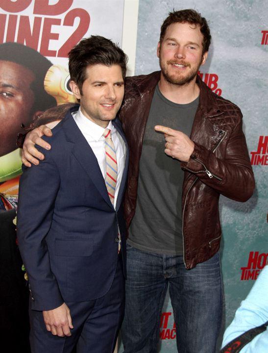 Jacuzzi al pasado 2: Adam Scott, Chris Pratt