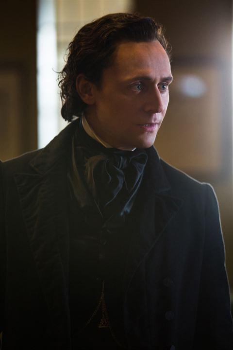 La cumbre escarlata : Foto Tom Hiddleston