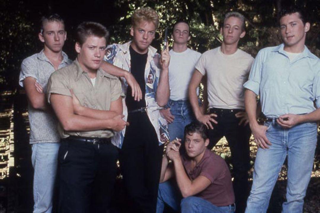 Cuenta conmigo : Foto Casey Siemaszko, Corey Feldman, Jerry O'Connell, Kiefer Sutherland, River Phoenix