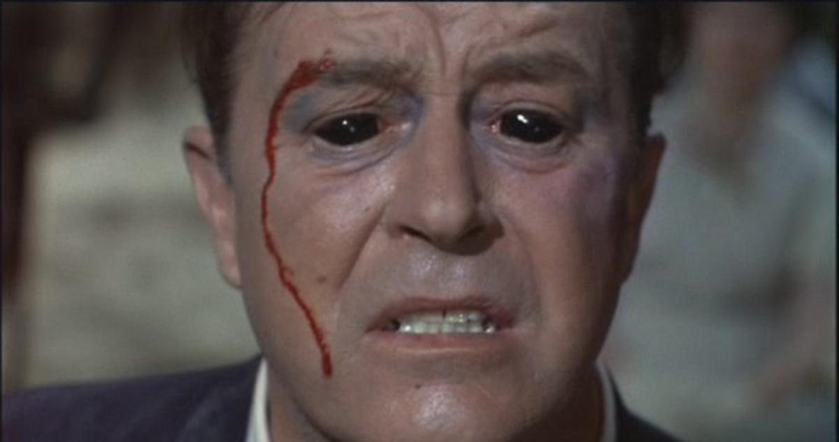 El hombre con rayos X en los ojos: Ray Milland