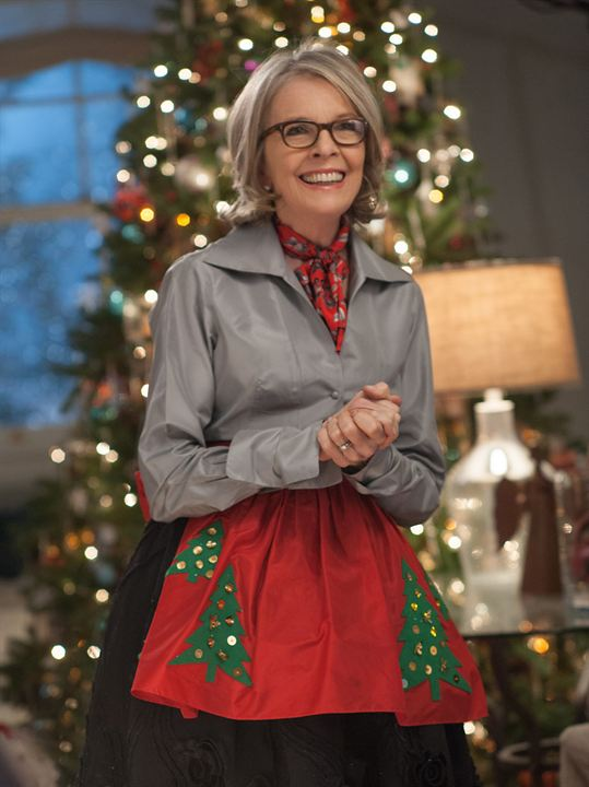 Navidades, ¿bien o en familia? : Foto Diane Keaton